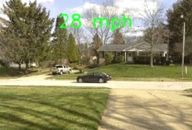 Raspberry Pi Car Speed Detector