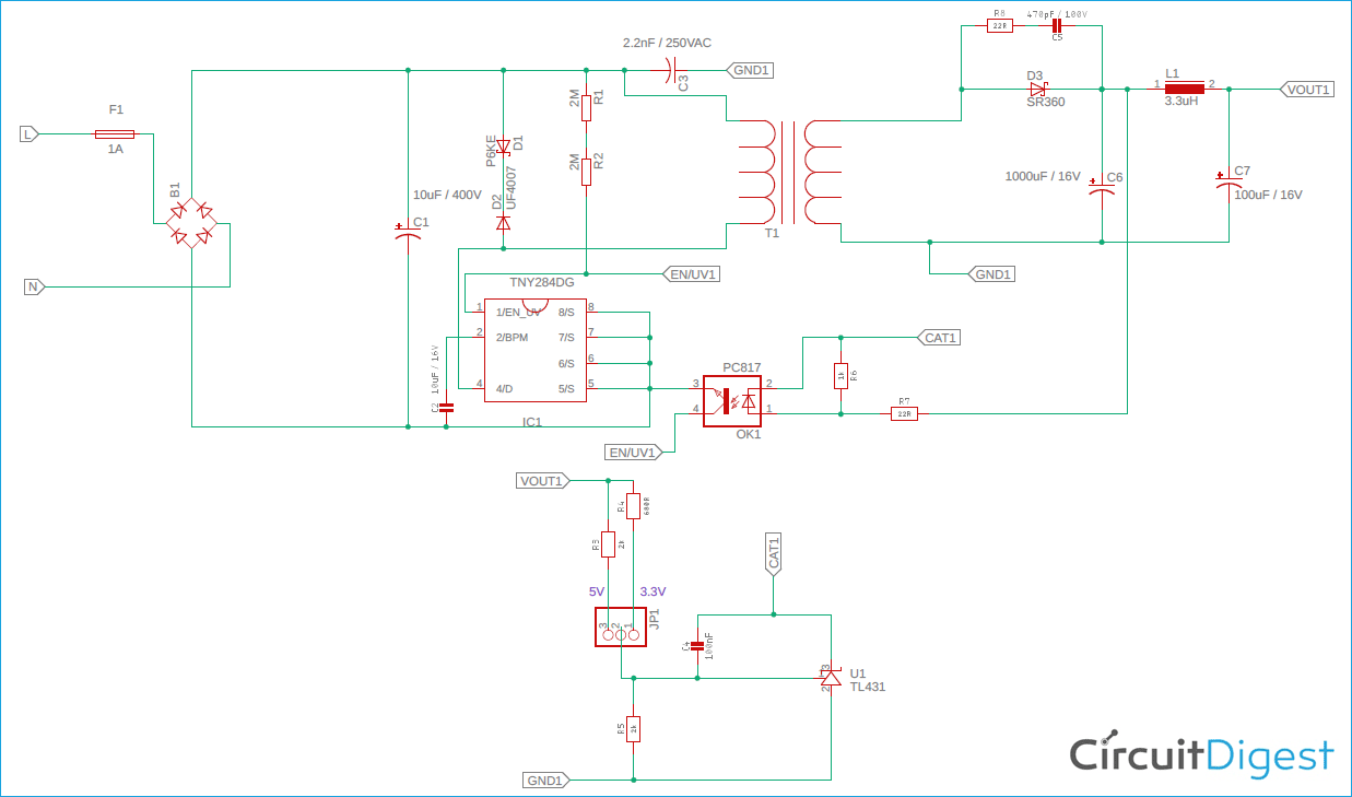 Design your own Compact 5V/3.3V SMPS Circuit for Embedded ...