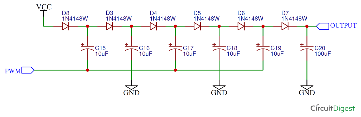 Charge Pump Circuit Diagram