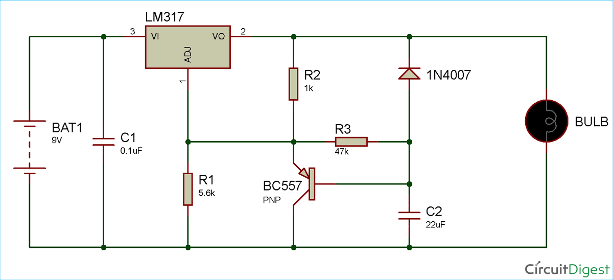 Soft Start Circuit for Power Supply