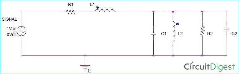 Circuit Diagram for Speaker with Equivalent RLC Circuit