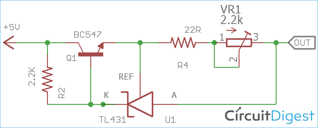 Simple Constant Current Generator Circuit Diagram