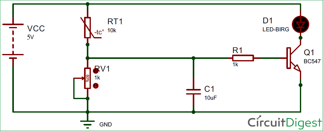 Pin Diagram Of Thermistor - Wiring Diagram Img