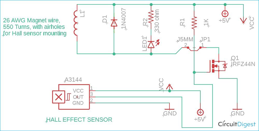 Magnetic Levitation Circuit Diagram