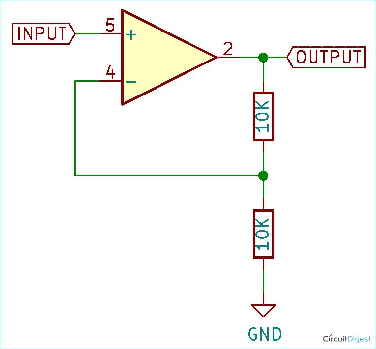 Non Inverting Amplifier Circuit