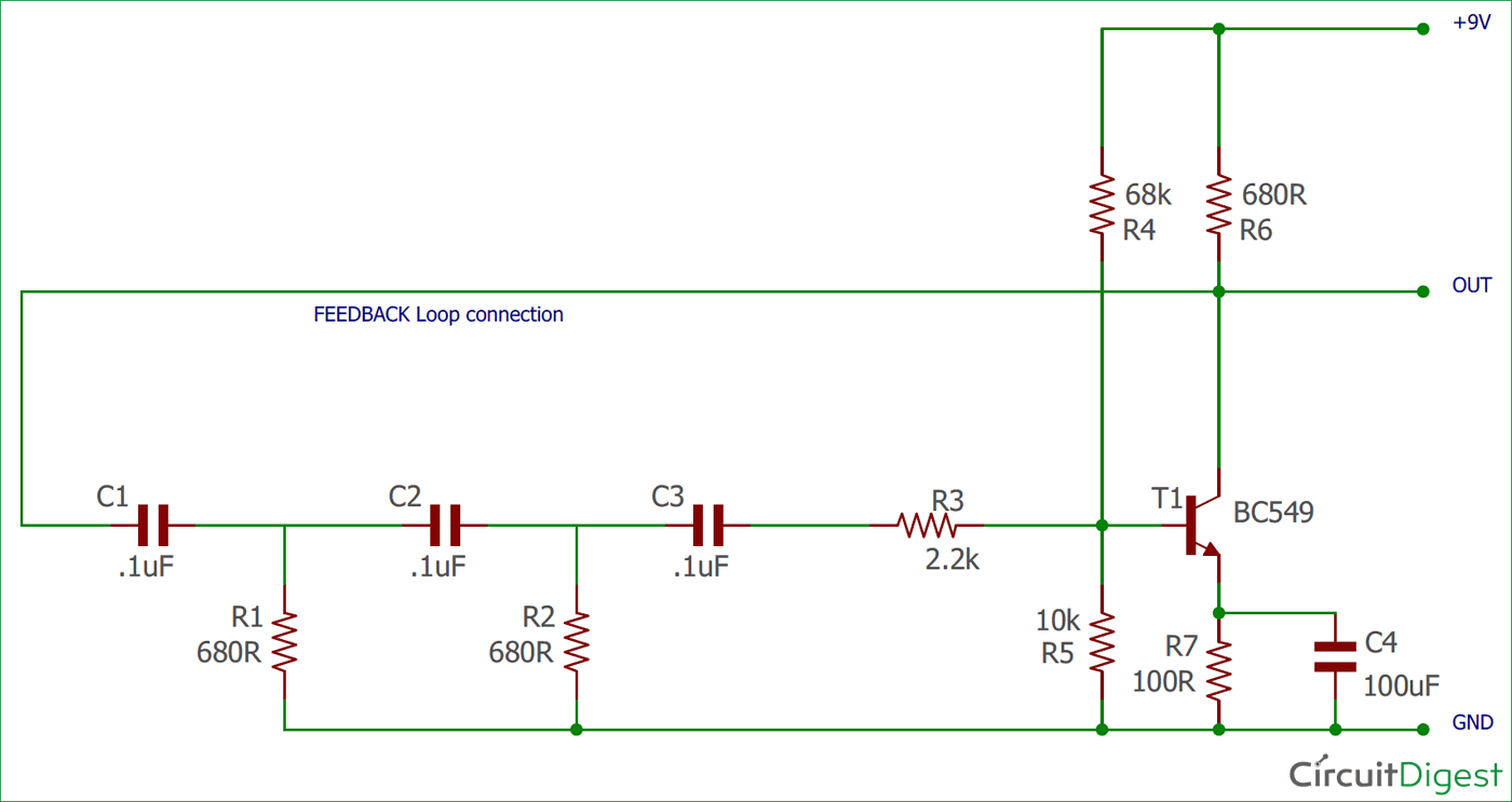 3 Phase Circuit Diagram