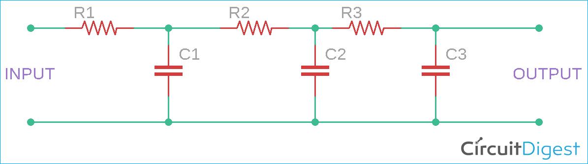 Square to Sine Wave Converter Circuit Diagram