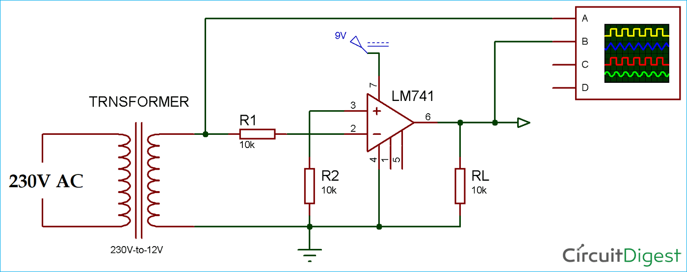 Circuit Diagram Of Zero Crossing Detector - Wiring Diagram Post