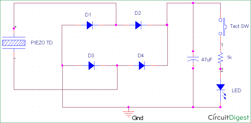Piezoelectric Transducer Circuit, Working and Applications ...