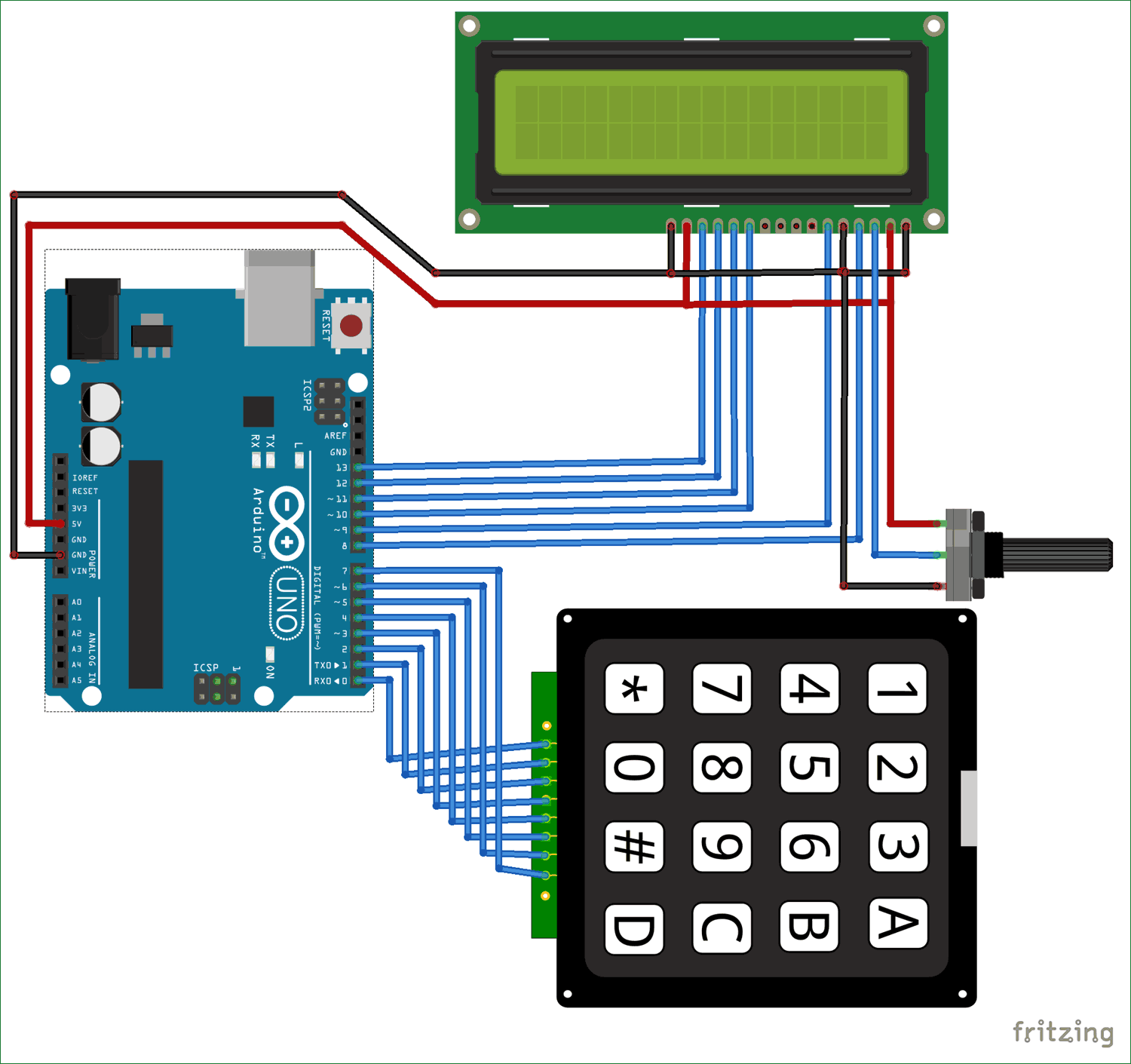 Arduino calculator using 4x4 keypad arduino calculator circuit diagram ccuart Images