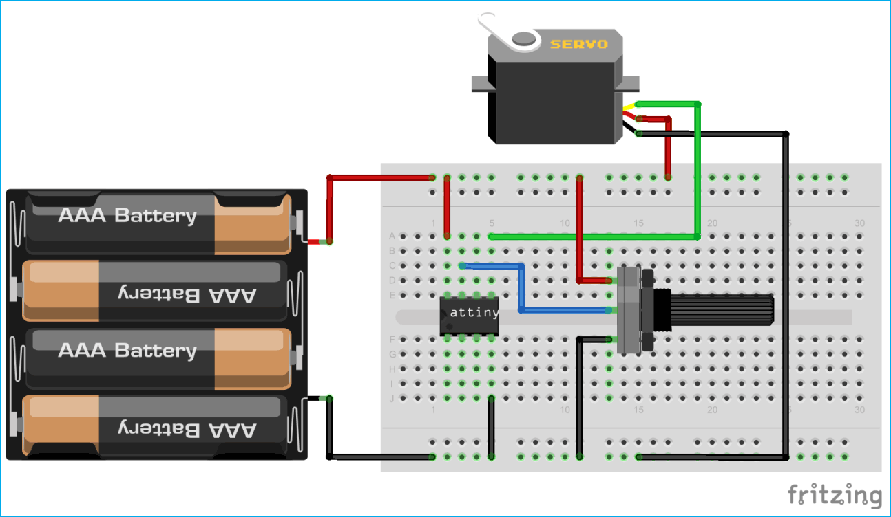 For More Detail 10 Bit Analog To Digital Converter Using Attiny26