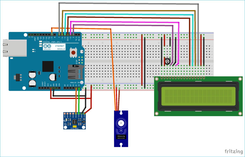 DIY Arduino Digital Protractor using MPU6050 Gyroscope