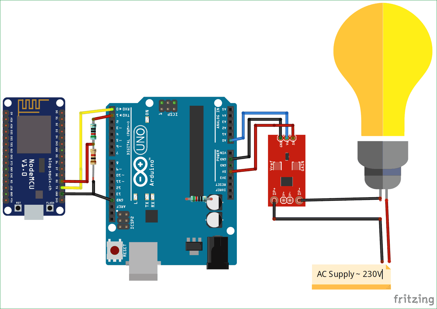 IoT based Electricity Energy Meter using ESP12 and Arduino