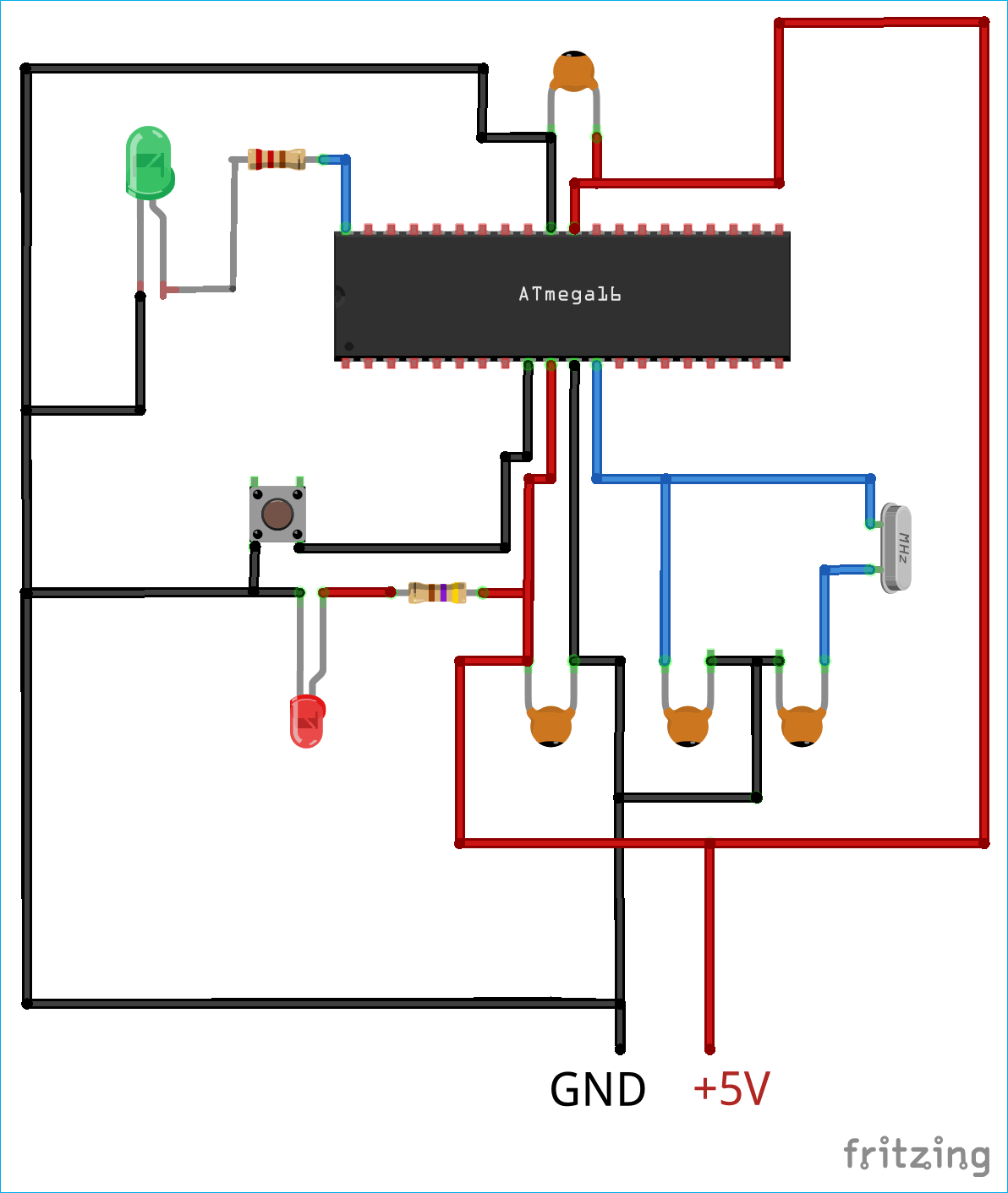 Fine How To Program Avr Microcontroller Atmega16 Using Usbasp Programmer Wiring Cloud Nuvitbieswglorg