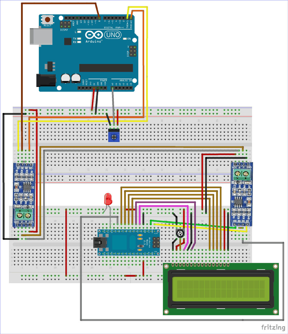 Arduino Uno Wiring Diagram from circuitdigest.com