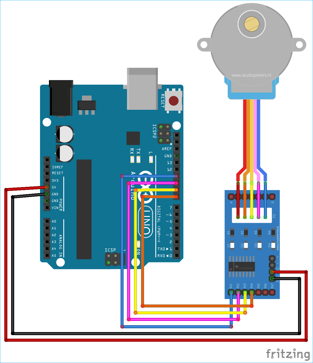 Stepper Motor Control Using Matlab And Arduino Tutorials For Simulink Speed System Controlling With