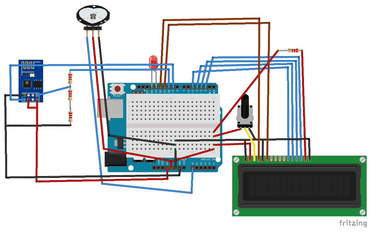 Iot Project Heart Beat Monitoring Over Internet Using Arduino And Baud Rate Generator Electronic Circuits Diagram Circuit