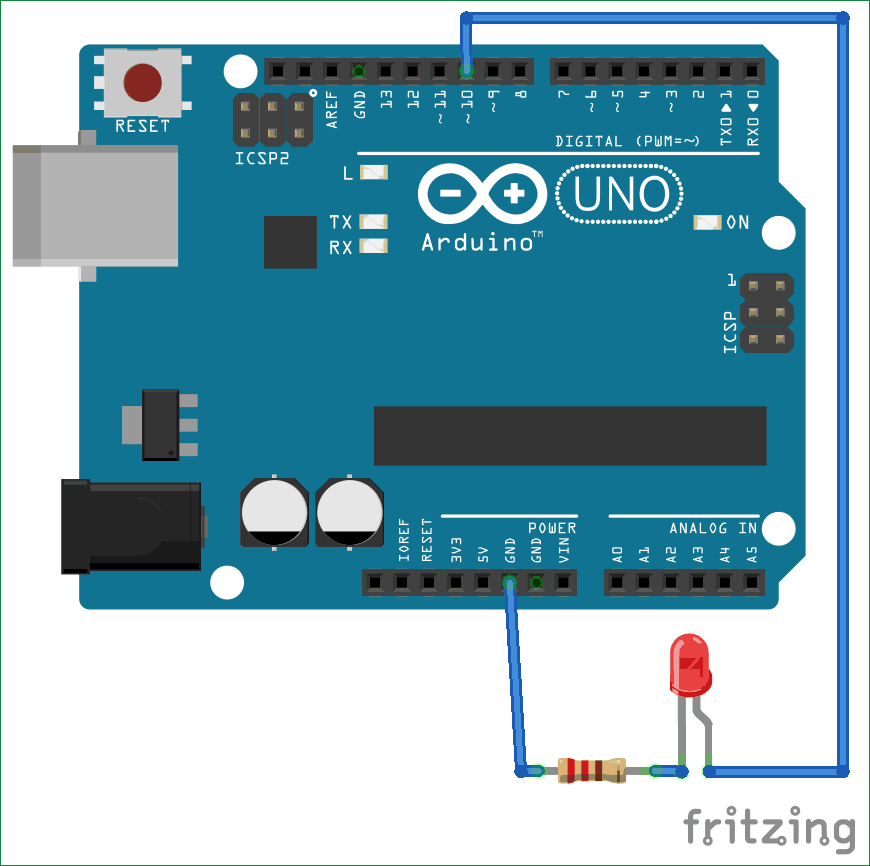 Interface Circuit Diagram of Arduino with MATLAB