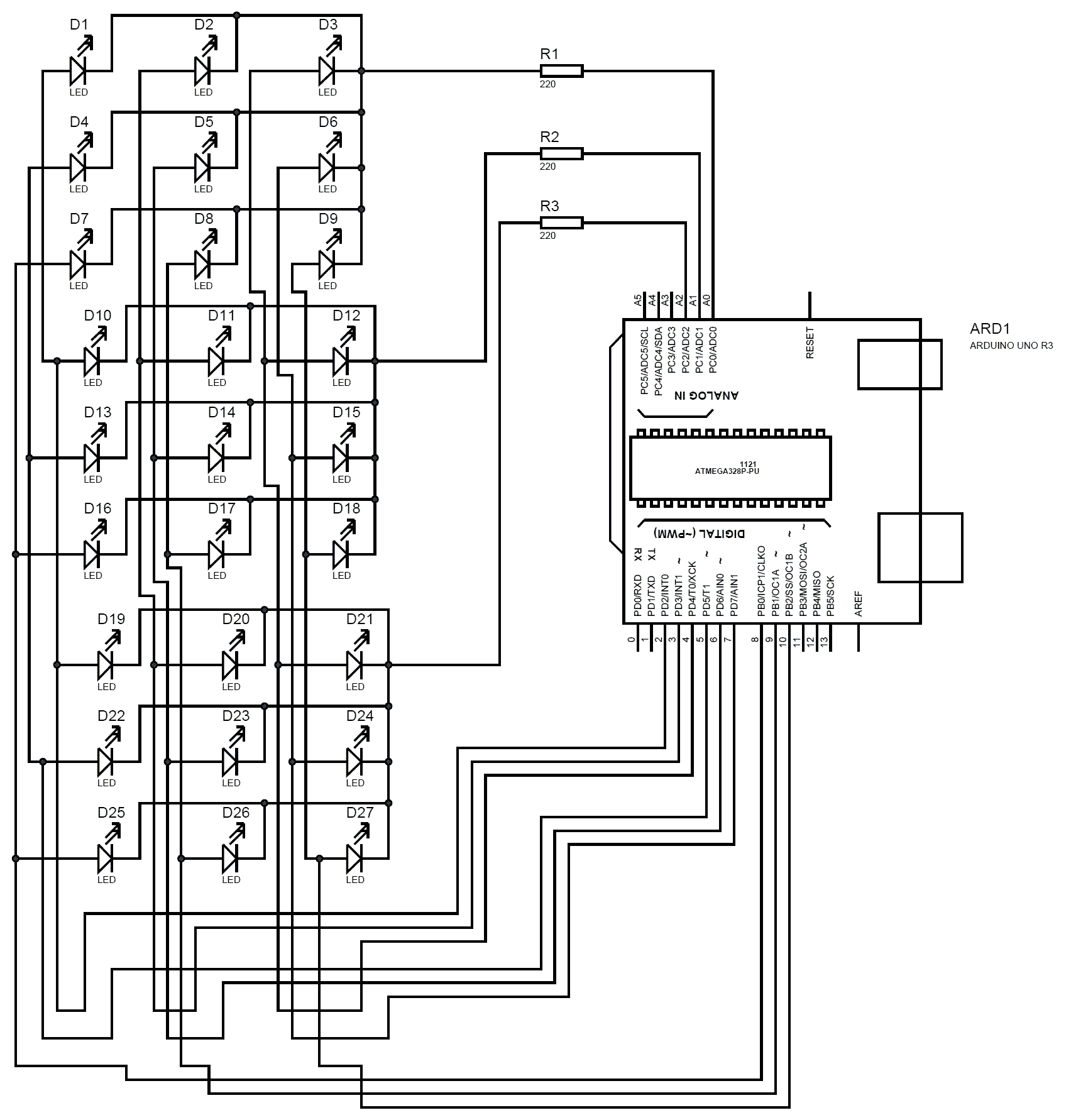 v3 led wiring diagram
