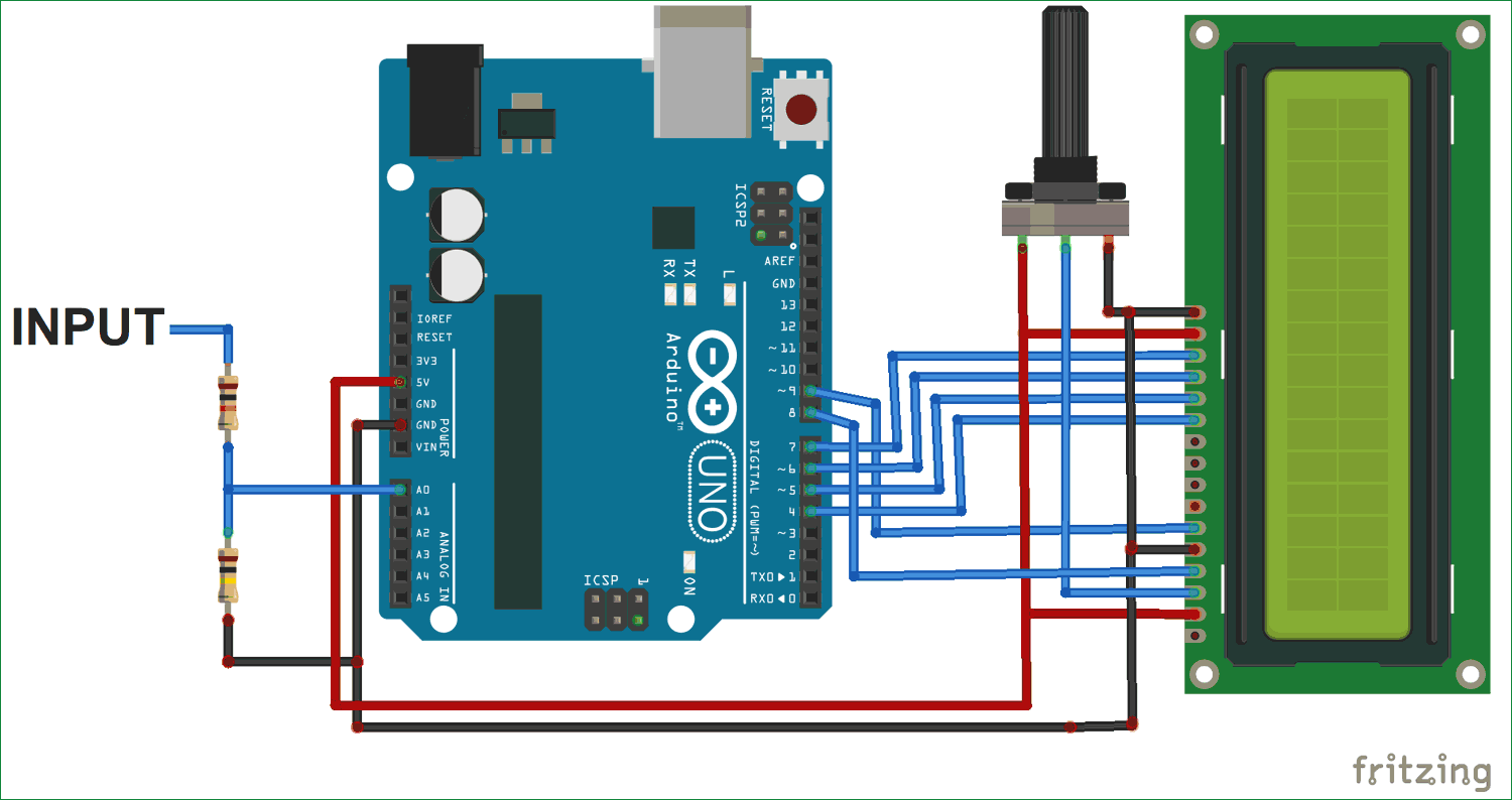 simple arduino voltmeter project with circuit \u0026 codesimple arduino digital voltmeter circuit