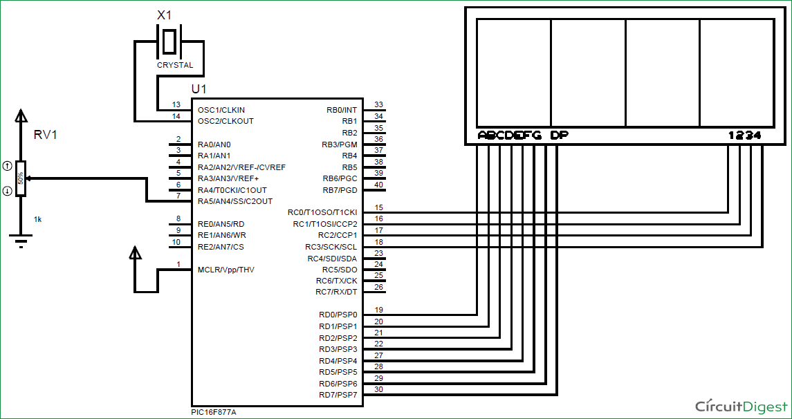 Using-ADC-Module-of-PIC-Microcontroller-circuit-diagram