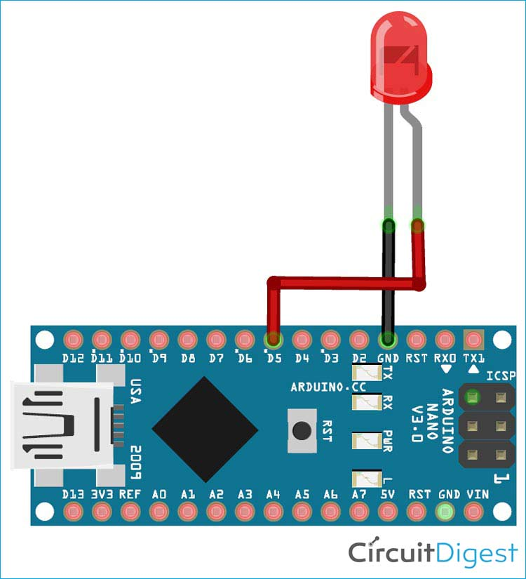 Arduino Voice Recognition Circuit Diagram