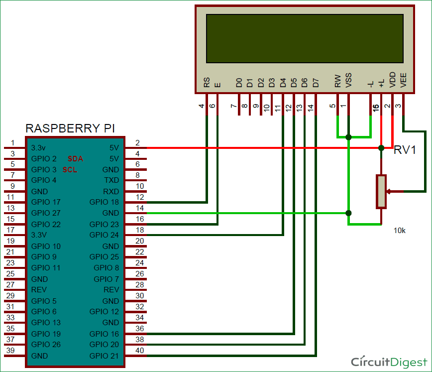 Voice Typing On 16x2 Lcd Using Raspberry Pi And Android App