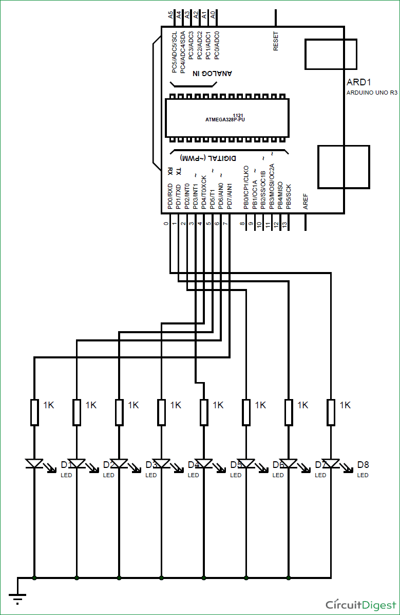 Encoder Circuit Diagram Wiring Master Blogs Logic 74193 Diy Arduino Propeller Led Display Block Ht12e