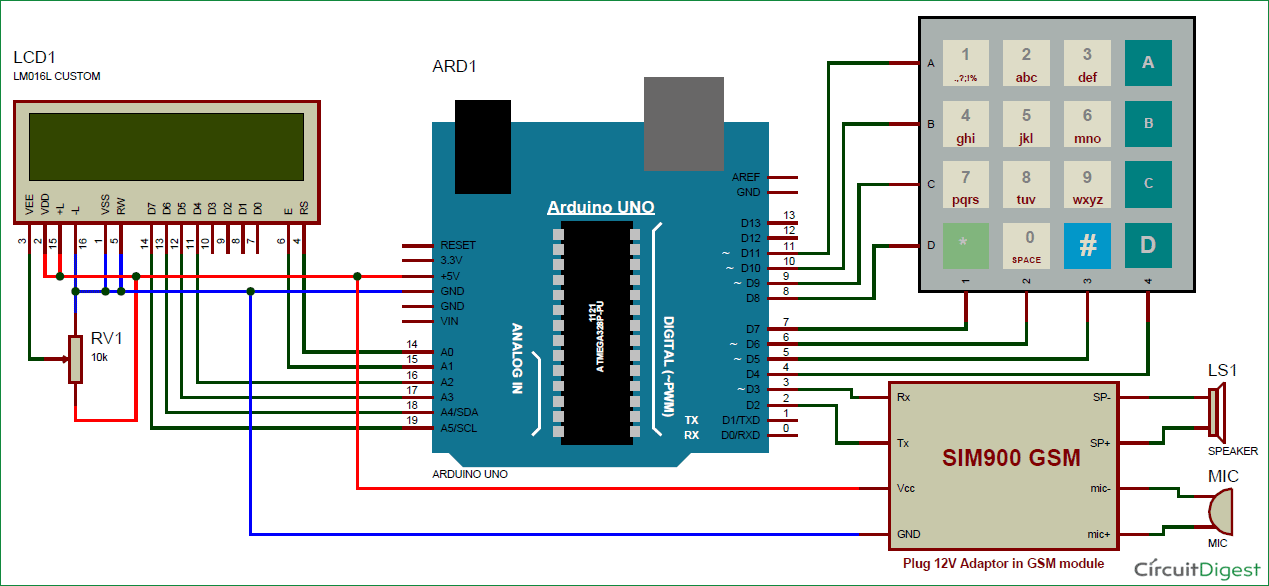 call-and-sms-using-arduino-and-gsm-circuit-diagram