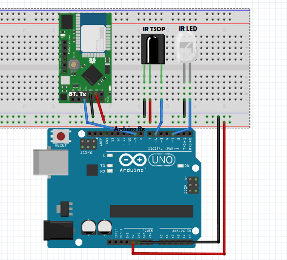 universal-IR-remote-using-Arduino-circuit-diagram