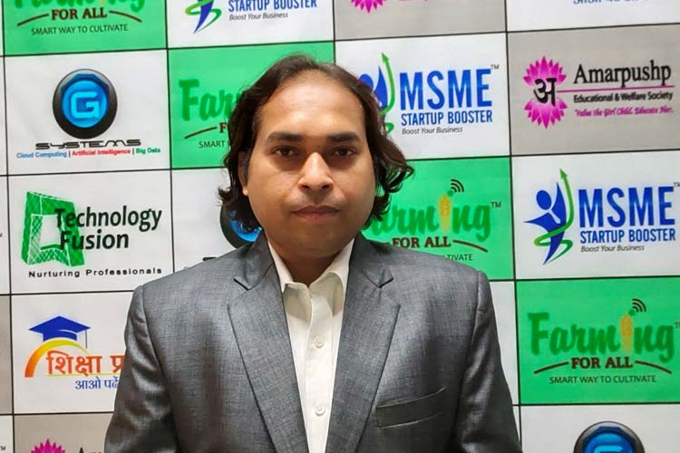 Ashish Kushwaha, Founder & CEO of FarmingForAll