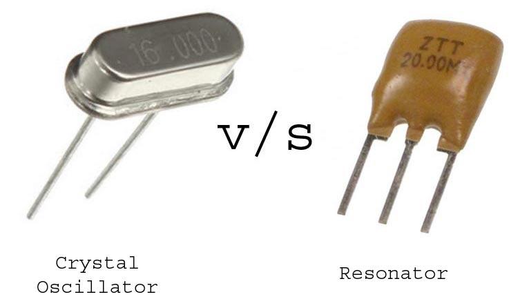 Crystal Oscillator Vs Resonator