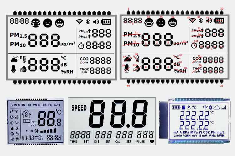 Design Custom Segment LCD Displays