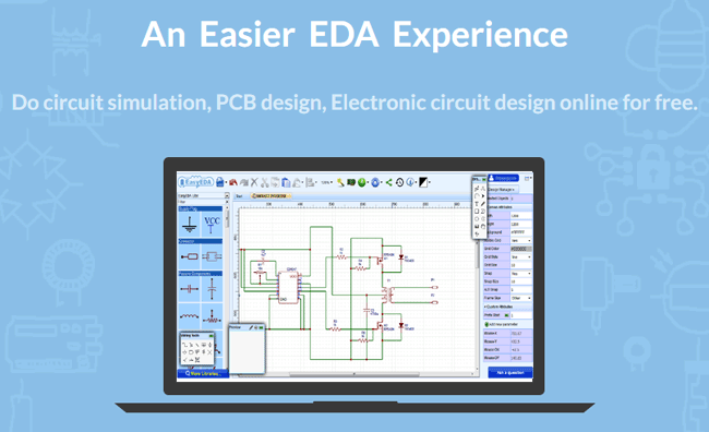 Design Electronic Circuits Online with EasyEDA