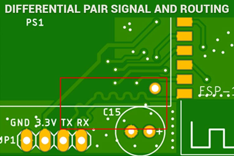 Differential Pair Routing