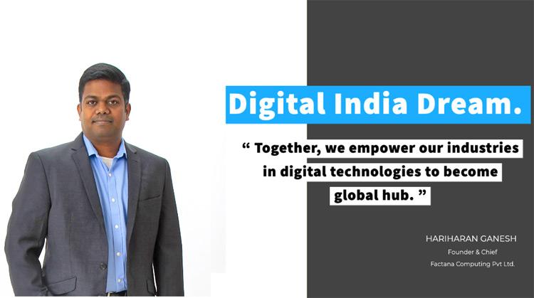 Hariharan Ganesh, Founder and Chief Architect of Factana Computing