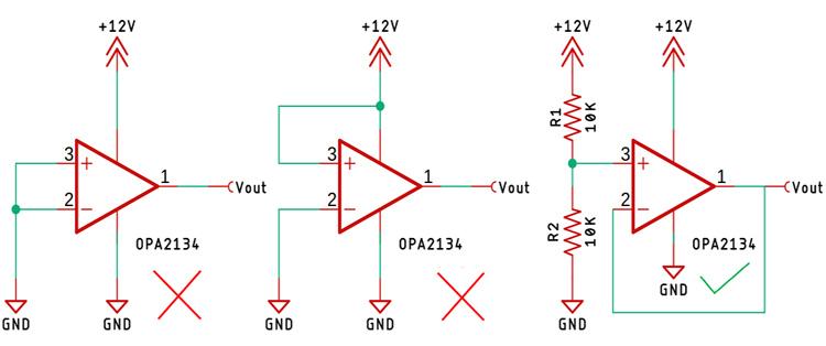 Terminating an unused OP-Amp