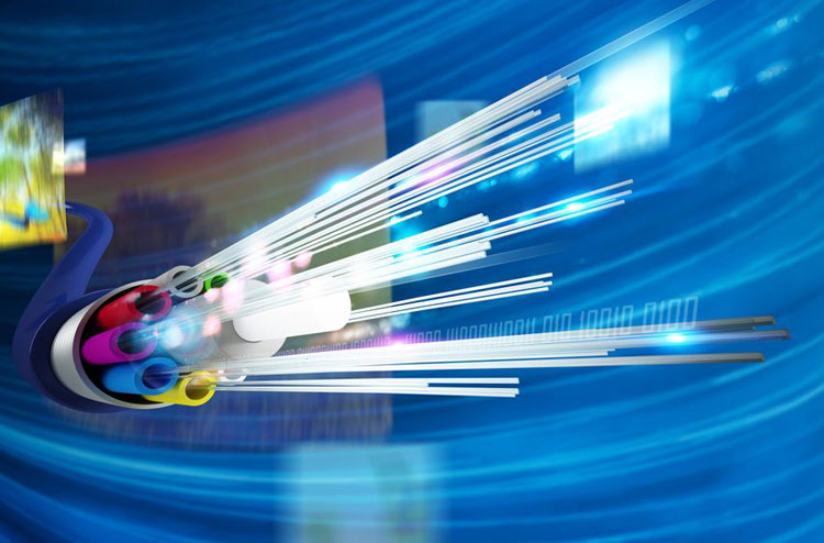 How Optical Fiber Communication works and why it is used in High Speed Communication