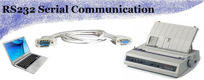 RS232 serial communication