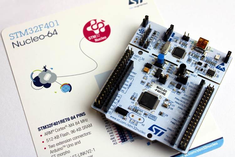 STM32F Nucleo 64 Development Boards