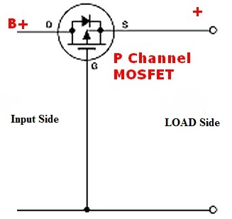 Diode replacement with MOSFET for Reverse Polarity