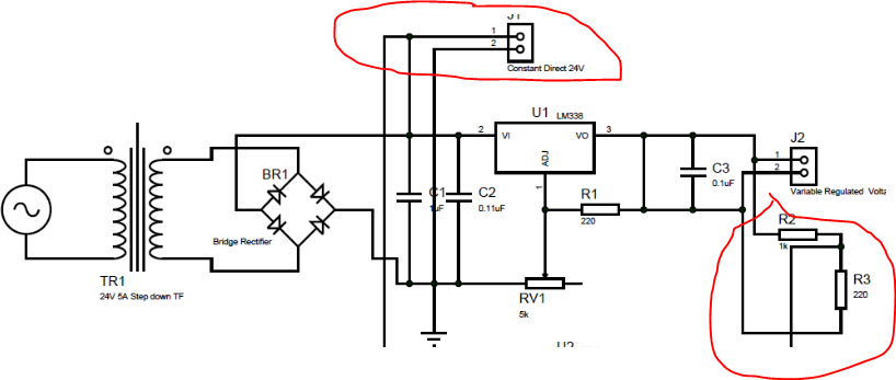 24v rectifier wiring diagram