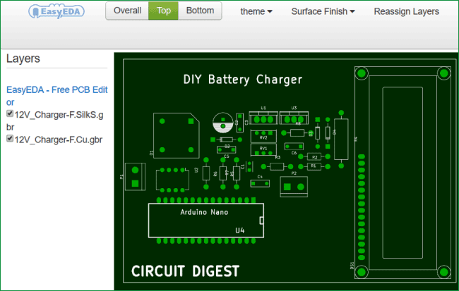12v Battery Charger Circuit Diagram using LM317 (12V Power ... on