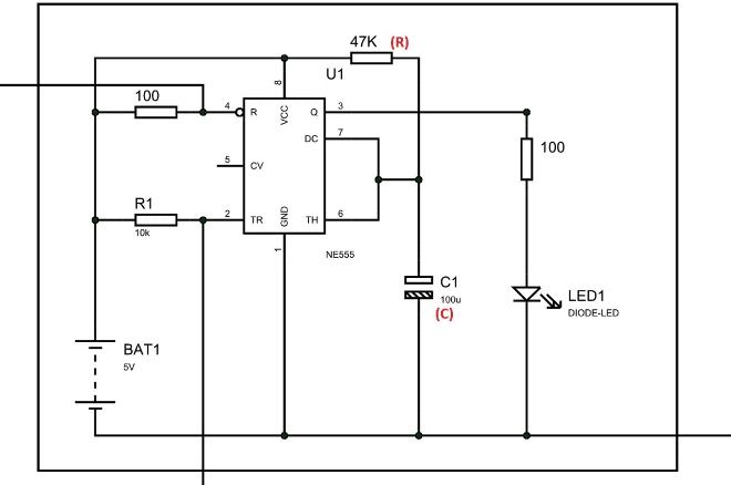 Electronic Lock Circuit Diagram | 555 Timer Based Simple Electronic Code Lock Circuit