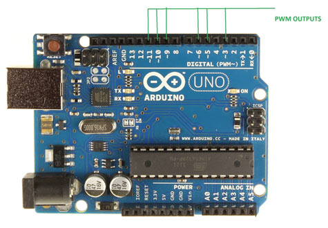 Image result for pwm pins on arduino uno pics