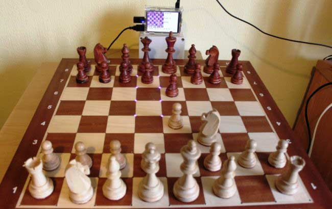 Arduino-chess-board
