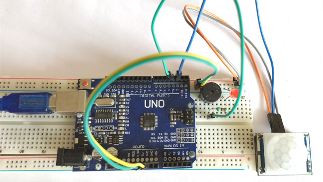 Arduino Motion Sensor Project
