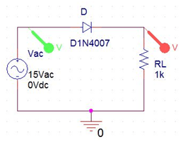 half wave rectifier circuit with without filter rh circuitdigest com Thermal Switch Wiring Diagram Ammeter Wiring-Diagram