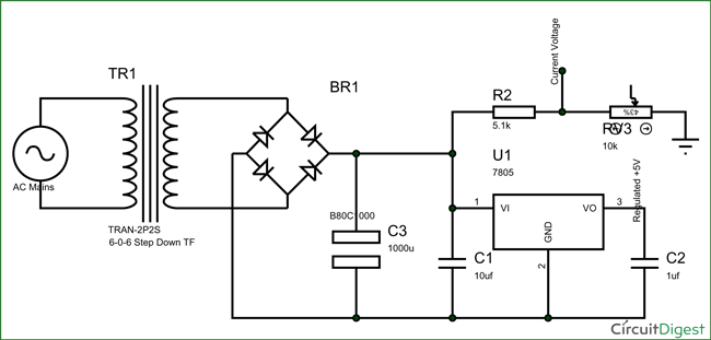 electronic circuit breaker schematic diagram rh circuitdigest com