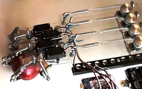 Diy robotic hand using arduino